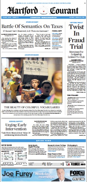 HartfordCourant-FrontPage