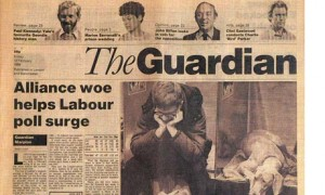 Guardian front page 12 Feb 1988