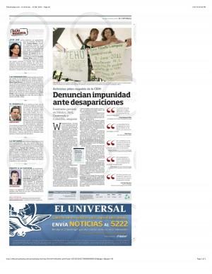 PressDisplay.com - El Universal - 17 Mar 2013 - Page #2