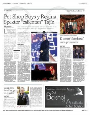 PressDisplay.com - El Universal - 24 Mar 2013 - Page #43