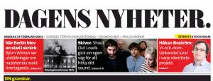 Dagens Nyheter Nameplate