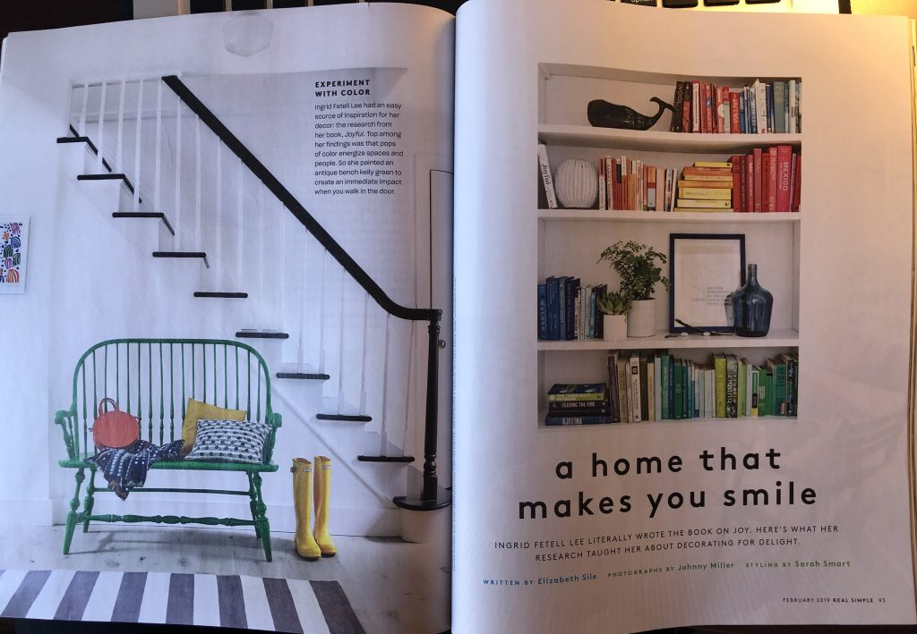 Imagery in Real Simple Magazine.